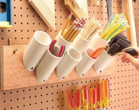 Стакан для инструментов своими руками