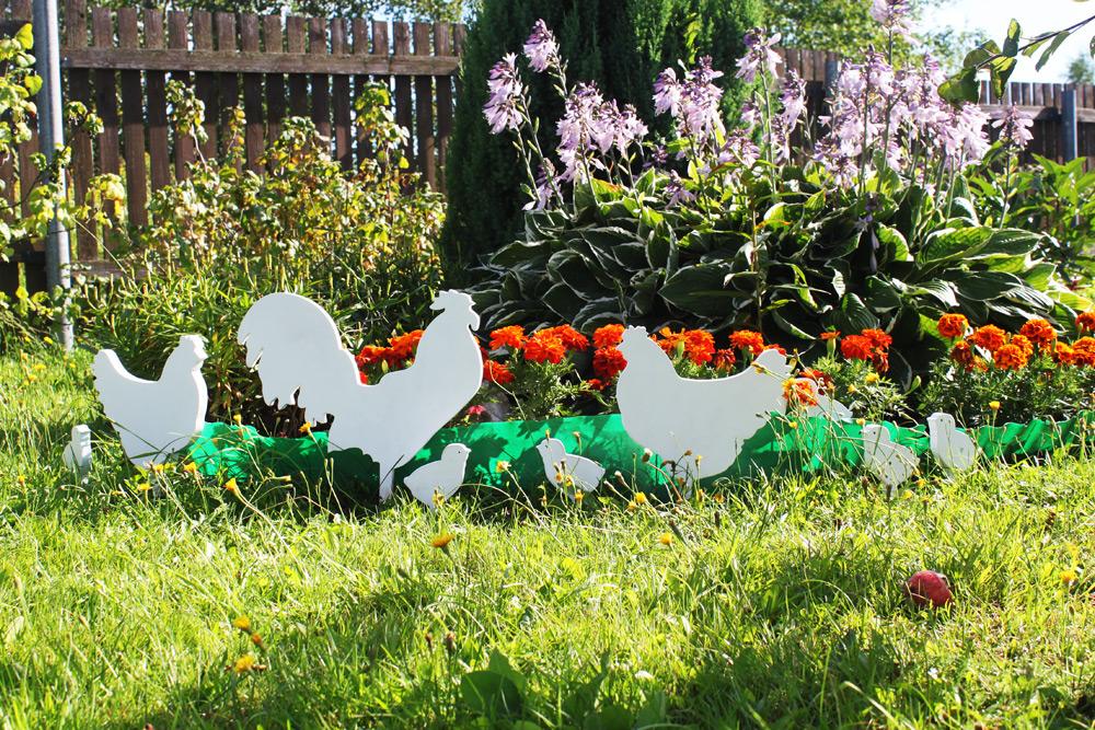 Фигуры садовые из фанеры