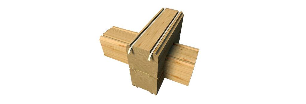glued beam Клееный брус
