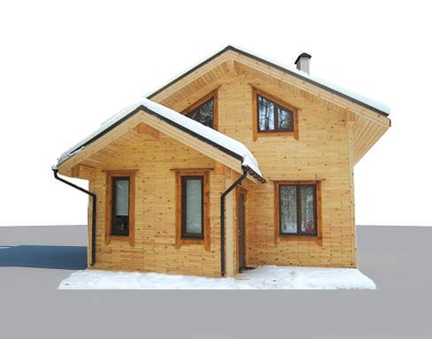 wood brick dom iz derevjannogo kirpicha Главная