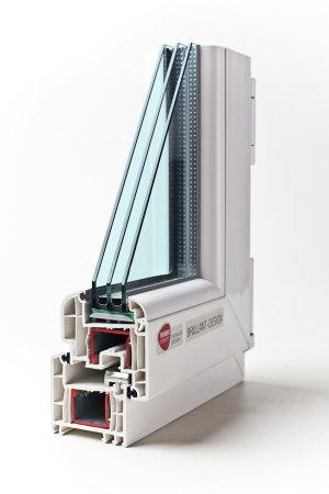 Rehau Brillant Пластиковые окна и двери Rehau