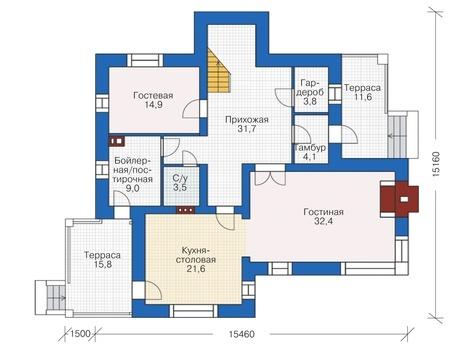 дом из кирпича 6