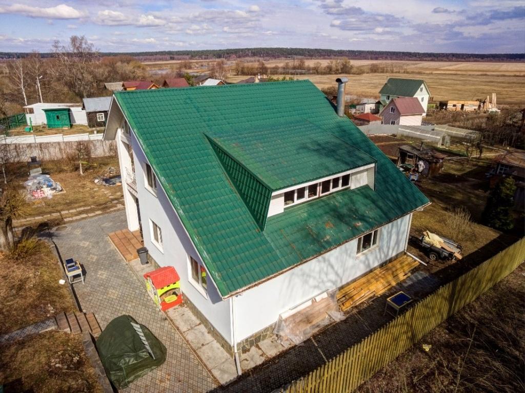 реконструкция крыши частного дома фото интернете можно найти