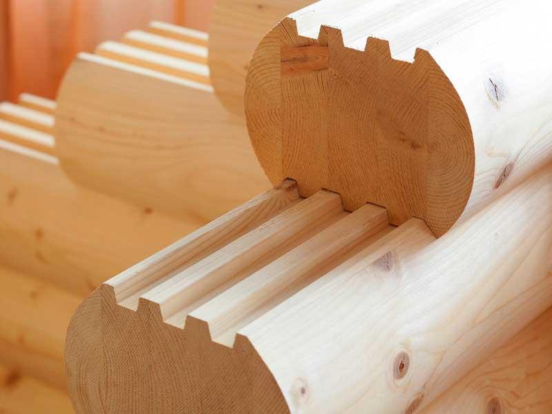 kleenyy brus 1 Кирпич, газобетон или дерево как выбрать качественный материал для строительства дома