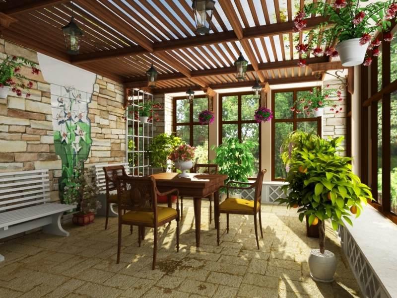 sad 6 Зимний сад на крыше решение для небольших домов