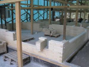 10 2 300x225 Дома из деревянного кирпича Wood Brick Фотогалерея