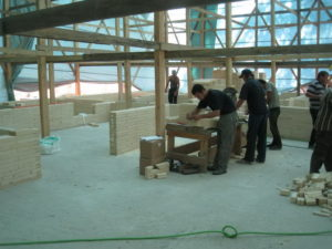 11 1 300x225 Дома из деревянного кирпича Wood Brick Фотогалерея