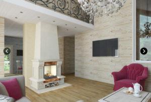 11 300x203 Дома из деревянного кирпича Wood Brick Фотогалерея