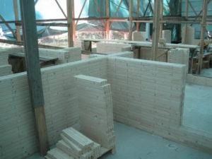 12 1 300x225 Дома из деревянного кирпича Wood Brick Фотогалерея