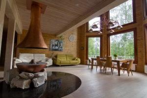 12 300x200 Дома из деревянного кирпича Wood Brick Фотогалерея
