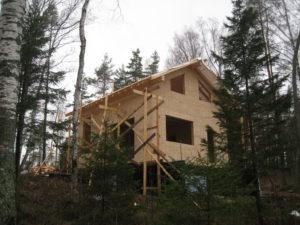 16 300x225 Дома из деревянного кирпича Wood Brick Фотогалерея