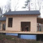 18 150x150 Дома из деревянного кирпича Wood Brick