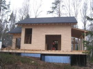 18 300x225 Дома из деревянного кирпича Wood Brick Фотогалерея