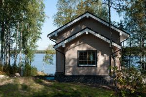 20 300x200 Дома из деревянного кирпича Wood Brick Фотогалерея