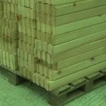22 150x150 Дома из деревянного кирпича Wood Brick