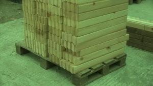 22 300x169 Дома из деревянного кирпича Wood Brick Фотогалерея