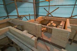 24 300x200 Дома из деревянного кирпича Wood Brick Фотогалерея