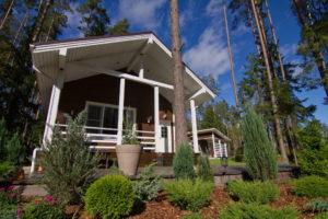 3 2 300x200 Дома из деревянного кирпича Wood Brick Фотогалерея