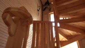3 3 300x169 Дома из деревянного кирпича Wood Brick Фотогалерея