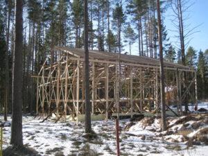 3 1 300x225 Дома из деревянного кирпича Wood Brick Фотогалерея