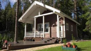 4 2 300x169 Дома из деревянного кирпича Wood Brick Фотогалерея