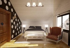 4 3 300x205 Дома из деревянного кирпича Wood Brick Фотогалерея