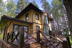5 1 300x200 Дома из деревянного кирпича Wood Brick Фотогалерея