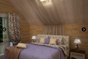 5 2 300x203 Дома из деревянного кирпича Wood Brick Фотогалерея