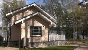 6 2 300x169 Дома из деревянного кирпича Wood Brick Фотогалерея
