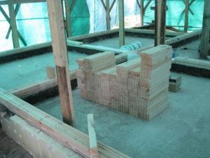 6 4 300x225 Дома из деревянного кирпича Wood Brick Фотогалерея
