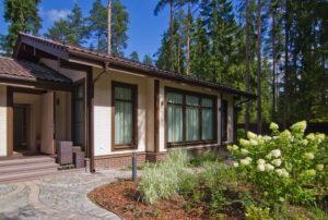 7 1 300x202 Дома из деревянного кирпича Wood Brick Фотогалерея