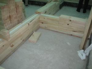 7 3 300x225 Дома из деревянного кирпича Wood Brick Фотогалерея