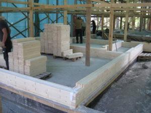 8 2 300x225 Дома из деревянного кирпича Wood Brick Фотогалерея