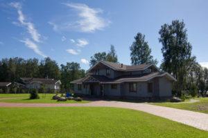 8 300x200 Дома из деревянного кирпича Wood Brick Фотогалерея