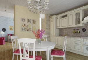 9 1 300x204 Дома из деревянного кирпича Wood Brick Фотогалерея