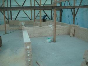 9 2 300x225 Дома из деревянного кирпича Wood Brick Фотогалерея